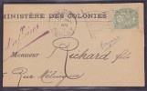 France Type Blanc - Lettre - 1900-29 Blanc