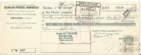 TRAITE GIGNOUX FRERES & BARBEZAT PRODUITS CHIMIQUES à DECINES (ISERE) 1937 - France