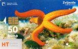 TELECARTE CROATIE 50 Kuna  Poulpe Octopus - Croatie