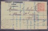France Type Mouchon - Lettre - 1900-02 Mouchon