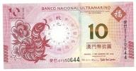Macao - 10 Patacas 2013, - Macao