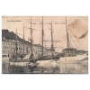 La Cote D' Azur  190    Nice  Le Port  Voiliers Italiens - Transport Maritime - Port