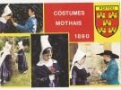 CPM Costumes Mothais 1890 - Les P'Tits Chagnes De Souvigné Ballet Populaire Enfantin Du Poitou - Costumi