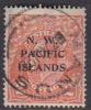 North West Pacific Islands 1921-22 2d Orange King George Used