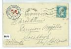 FRANKRIJK * GESCHREVEN BRIEF Uit 1921 Gelopen V M.S. BALOERAN Via MARSEILLE Naar SOESTDIJK * ROTTERDAMSCHE LLOYD  (9963) - Covers & Documents