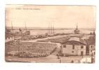 CPA ALGER Alg�rie - Vue de L�Il�t AL-DJAFNA Bateaux Port B�timent Ch. SCHIAFFINO A. JOUVET & Cie Navigation C�ti�re