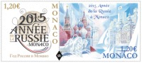 Monaco 2015 Mih. 3212/13 Russian Year In Monaco (joint Issue Monaco-Russia) MNH ** - Ungebraucht