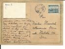Carte Tchécoslovaque  Utilisée Juste Aprés L'occupation Allemande , 1939 (308) - Briefe U. Dokumente