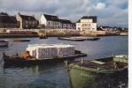 CARNAC (56-Morbihan), Anse Du Pô, Port, Recueil Des Nessains (huitres) Sur Tuiles Chaulées, Barge, Ed. Jos 1974 - Carnac
