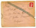 Enveloppe - Gemeinschaftslager CHEMNITZ Vers  Belgique - 1943 - Bande De Censure - Militaria