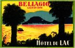 5 HOTEL LABELS ITALY ITALIE LAGO DI COMO Lake Como LAC DE COME Bellagio Torriggia Albergio Sociale