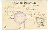 ISERE CP 1916 PRISONNIERS DE GUERRE CHANTIER DE L´EAU D´OLLE RIVIER D´ALLEMONT ISERE - Marcophilie (Lettres)