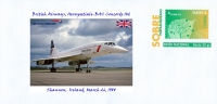 SPAIN, 2014 British Airways, Aerospatiale-BAC Concorde 102, Shannon,  Ireland, March 26, 1988 Aircraft - Concorde