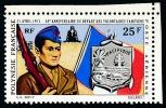 POLYNESIE 1971 - Yv. PA 47 ** TB Cdf  Cote= 13,00 EUR - Départ Des Volontaires Polynésiens ..Réf.POL22642 - Poste Aérienne