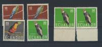 EC - 1958 - 956-958 -- 6 WERTE- VÖGEL - BIRDS - PAJAROS - ECUADOR - EQUATEUR - MNH -** - POSTFRISCH - Equateur