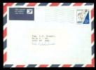 BOTSWANA * LUCHTPOST BRIEFOMSLAG Uit 1991 Gelopen Van  GABORONE Naar URK  (9971a) - Botswana (1966-...)