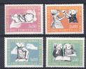 PORTUGAL 1962. 10º CONGRESSO  INTERNACIONAL PEDIATRIA .AFINSA Nº 894/897. NUEVO SIN CHARNELA.SES095 - Nuevos