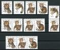 Slowakei Zusammendruck-Kombinationen Aus MiNr. 458-61 Postfrisch/ MNH (AK1112 - Slovakia