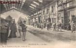 PUYÔO LA GARE TRAIN LOCOMOTIVE STATION BAHNHOF - Francia