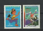 EC - 1997 - 2378-2379 - UPAEP - CARTERO - POSTBOTE (2)- ECUADOR - EQUATEUR - MNH -** -POSTFRISCH - Equateur