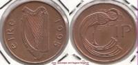 Irlanda 1 Penny 1995 KM#20a - Used - Irlanda