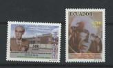EC - 1998 - 2397-2398 - EMILIANO ORTEGA ESPINOSA - ECUADOR - EQUATEUR - MNH -** -POSTFRISCH - Equateur