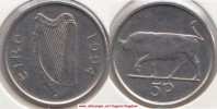Irlanda 5 Pence 1994 KM#28 - Used - Irlanda
