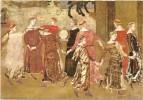 F3268 Siena - Palazzo Pubblico - Fanciulle che danzano - Affresco di Ambrogio Lorenzetti / non viaggiata