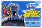 Ticket Entrée Funpark Playmobil - Fresnes (94), France - Tickets D'entrée