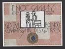 Etiquette De Vin Pinot Gamay  - Général Boinod Commissaire De Guerre  -  Thème Militaire  - Hôpital De Vevey  Suisse - Antiche Uniformi