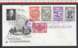 """NICARAGUA - 1955 -  FIRST DAY OF ISSUE  """" ROTARY INTERNATIONAL """" - - Nicaragua"""