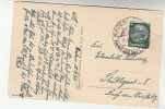 1934 Baden GERMANY Stamps COVER  (postcard  ) - Germany