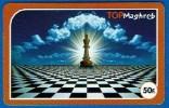 Schaken Schach Chess Ajedrez échecs - Telefoonkaart Frankrijk - Jeux