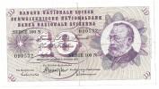 Switzerland 10 Francs 6/1/1977 .H. - Svizzera