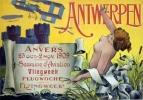 @@@ MAGNET - 1909 Antwerp Aviation - Advertising