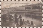 5AH2540  PONTIVY LE CANAL AU FOND LE QUARTIER DES CHASSEURS LAVANDIERS  2  SCANS CARTE EST OUVERTE - Pontivy