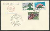 1972 ITALIA FDC CAVALLINO ALPINI NO TIMBRO ARRIVO - EDG35-5 - F.D.C.