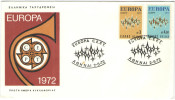 GRECIA - GREECE - GRECE - GRIECHENLAND - 1972 – Europa CEPT - Athen - FDC - Europa-CEPT