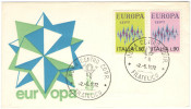 ITALIA - ITALY - 1972 - EUROPA CEPT - Roma - FDC VENETIA - Europa-CEPT