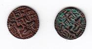 SRI LANKA, 2 PIECES DONT 1 DE VIJAYA BAHU II, ANNEE +/- 1200. (5CP12) - Sri Lanka