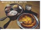 CPSM  Recette Du Far Breton - Recipes (cooking)