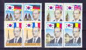 KOREA, SG 1711/4 ** MNH (TWICE) And MS 1715 ** MNH.  (5CT5) - Corée Du Sud