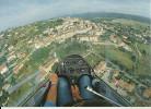 83 FAYENNE PRISE DE TERRAIN EN JANUS  CM PLANEUR AVION AVIATION PILOTE VUE GENERALE AERIENNE VAR - Fayence