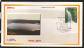 India  2004 World's  Third Largest Meteorite Impact Crater At Lonar, Nagpur Special Cover   # 86592  Inde Indien - Geology
