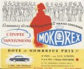 Grand Concours MOKAREX/L'Epopée Napoléonienne/Simca Versailles/2CV Citroën/1956  BUV247 - Coffee & Tea