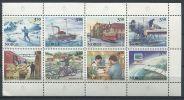 148 NORVEGE 1996 - Courrier Postal (Yvert 1175/82) Neuf ** (MNH) Sans Trace De Charniere - Ungebraucht