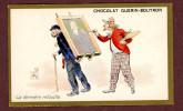 Chocolat Guérin Boutron, Chromo Lith. Champenois TM36-33, Scènes Comiques, Personnages, La Dernière Retouche - Guerin Boutron
