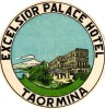 4 Etiquettas   HOTELS Colletion  ITALia  ITALIE  TAORMINA San Dominico Palazzo  Timeo  Excelsior Palace - Etiquettes D'hotels