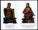 Santino - SS. Cuore Di Gesu´ E Maria - Con Preghiera - Santini