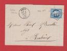 Facture //  De Anzin  //  Pour  Roubaix  //  2 Juillet  1874  // - Marcophilie (Lettres)